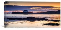 St Cwyfan's Church, Canvas Print