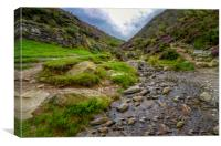 Carding Mill Valley, Canvas Print