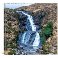 Blackhill Waterfall on Isle of Skye, Canvas Print