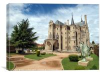 The Episcopal Palace of Astorga, Spain , Canvas Print