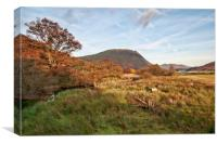 Views To Crummock Water, Canvas Print