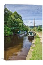 Hebden Bridge, Canvas Print
