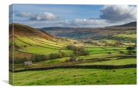 Iconic Swaledale, Canvas Print