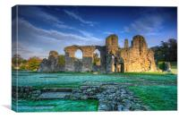 Easby Abbey, Canvas Print