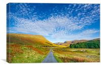 Glen Lyon, Canvas Print