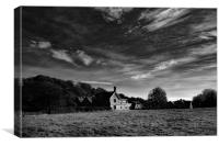 Station Masters Cottage, Canvas Print