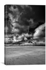 Woolacombe Skies, Canvas Print