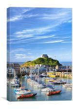 Ilfracombe summer , Canvas Print