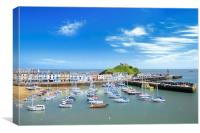 Ilfracombe in summer, Canvas Print