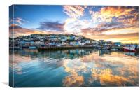 Golden Harbour, Canvas Print