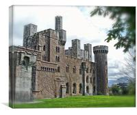 Penrhyn Castle, Anglesey., Canvas Print