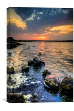 Sunset Colors , Canvas Print