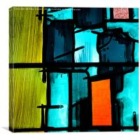 Stained Glass #2, Canvas Print