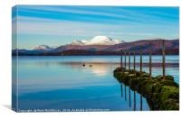 Winter on Loch Lomond - 2, Canvas Print