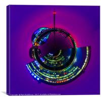 BBC Scotland and GSC Little Planet, Canvas Print