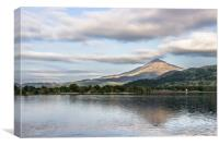 Mount Schiehallion, Canvas Print