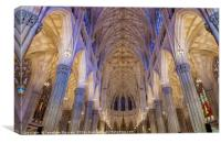 Structure Of St. Patrick Cathedral 1, Canvas Print