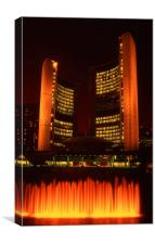 Toronto City Hall, Canvas Print
