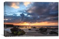Derrymore Strand at Sunset,Dingle Peninsula, Canvas Print