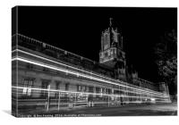 Oxford at Night, Canvas Print