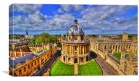Oxford Skyline, Canvas Print