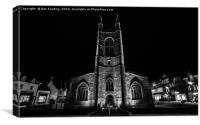St John's, Peterborough, Canvas Print