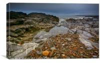 Ogmore by Sea, Canvas Print