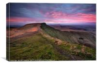 Corn Du, Brecon Beacons, Canvas Print