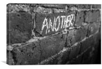 Pink Floyd - Another Brick In The Wall, Canvas Print