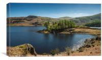 Sun over Haweswater, Canvas Print