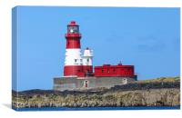 Longstone lighthouse, Canvas Print