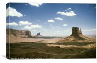 Monument Valley Utah, Canvas Print