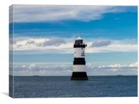 Penmon Lighthouse, Canvas Print