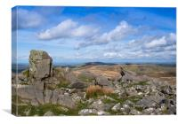 The Beautiful Preseli Hills, Canvas Print
