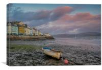Sunset at Aberdovey, Canvas Print