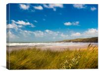 Freshwater West - White Surf, Canvas Print