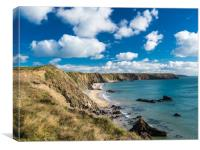 Marloes Sands, Pembrokeshire., Canvas Print