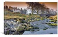 Mountain Stream at Cockley Beck, Canvas Print