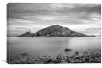 Mumbles lighthouse., Canvas Print