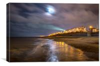 Southwold by Night , Canvas Print