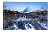 The Fairy Pools, Skye, Canvas Print