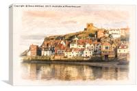 Yorkshire Coast - Whitby, Canvas Print