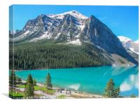 Lake Louise Banff, Canvas Print