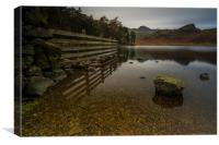 Blea Tarn Little Langdale the Lake District , Canvas Print