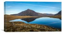 Llyn Idwal Reflections, Canvas Print