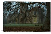 House Behind The Trees I, Canvas Print