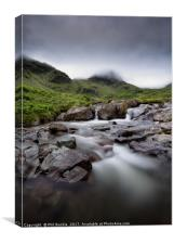 Moody Morning Deepdale Beck, Canvas Print