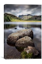 Blea Tarn to the Pikes, Canvas Print