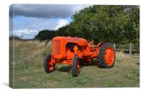 1947 Allis Chalmers Model B, Canvas Print