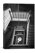 Endless stairs, Canvas Print